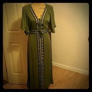 Very beautiful bohemian style maxi dress!!